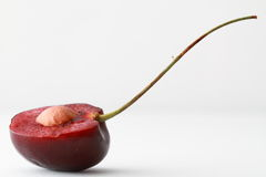Cherry Half Royalty Free Stock Images