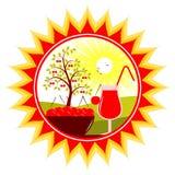 Cherry harvest Royalty Free Stock Photo