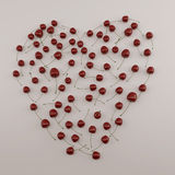 Cherry heart Royalty Free Stock Images