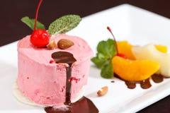 Cherry ice cream Royalty Free Stock Photos