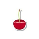 Cherry Icon Photo libre de droits