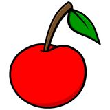 Cherry Icon Royalty Free Stock Photography