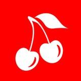 Cherry illustration Stock Photo
