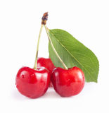 Cherry isolated Stock Photo