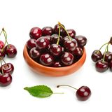 Cherry isolated on white background Royalty Free Stock Photo
