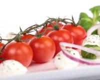Cherry isolerade tomater royaltyfri fotografi