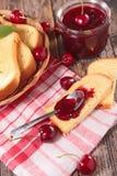 Cherry Jam Stockfotos
