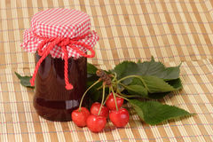 Free Cherry Jam Royalty Free Stock Photo - 5766195