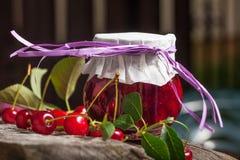 Cherry Jam Imágenes de archivo libres de regalías