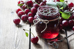 Free Cherry Jam Royalty Free Stock Image - 87747306