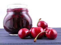 Free Cherry Jam Royalty Free Stock Photography - 901987