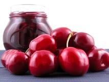 Cherry jam Stock Image