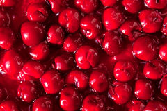 Cherry jam Royalty Free Stock Photography
