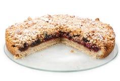 Cherry jam dessert Stock Image