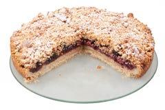 Cherry jam dessert stock photo