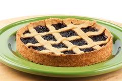 Cherry jam tart Royalty Free Stock Photo