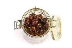 Cherry jar Stock Images
