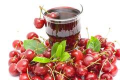 Cherry juice Stock Photos