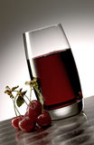 Cherry juice Royalty Free Stock Photography