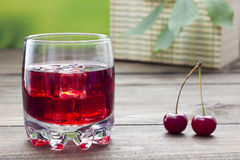 Cherry Juice Images stock