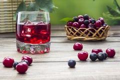 Cherry Juice Photographie stock libre de droits