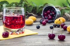 Cherry Juice Photos libres de droits