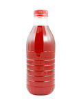 Cherry juice bottle Royalty Free Stock Photo