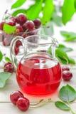 Cherry juice Royalty Free Stock Photo