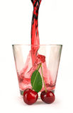 Cherry juice Stock Image