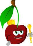 Cherry king Stock Images