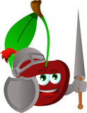 Cherry knight Royalty Free Stock Images