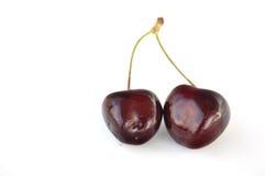 Cherry kopplar samman Arkivbild