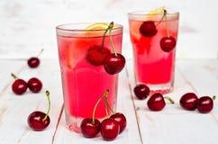 Cherry lemonade Stock Image