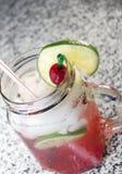 cherry limeade Στοκ Φωτογραφίες