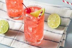 Cherry Limeade caseiro doce foto de stock