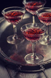 Cherry Liqueur Royalty Free Stock Images
