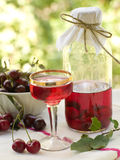 Cherry Liquor Royalty Free Stock Images