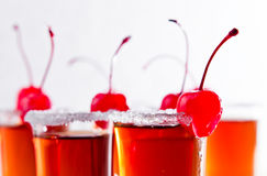 Cherry liquor Royalty Free Stock Image