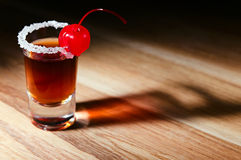 Cherry liquor Stock Photography