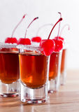 Cherry liquor Royalty Free Stock Photo