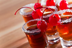 Cherry liquor Stock Photo