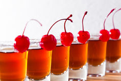 Cherry liquor Royalty Free Stock Photos