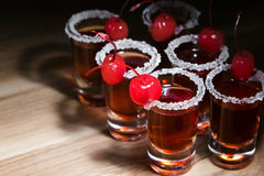 Cherry liquor Royalty Free Stock Photography