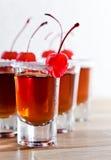 Cherry liquor Stock Images