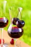Cherry liquor Royalty Free Stock Photography