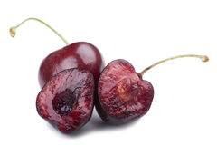 Cherry macro Royalty Free Stock Image