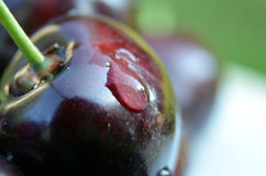Cherry, macro Royalty Free Stock Photography