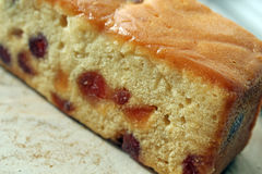 Cherry Madeira Cake Royalty Free Stock Images