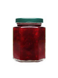 Cherry marmalade in jar Royalty Free Stock Image