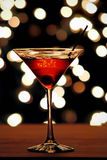 Cherry Martini Royalty Free Stock Photo